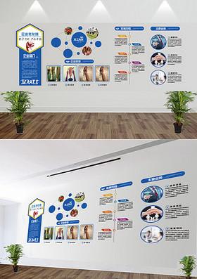 创意企业展板企业文化墙