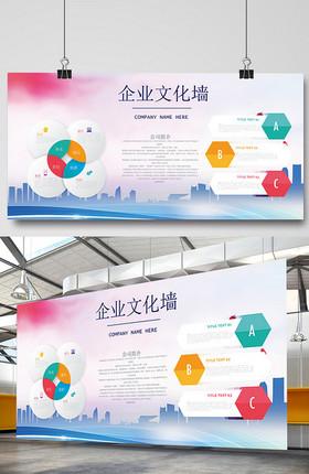 企业文化墙企业展板