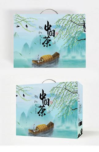 茗茶茶叶包装袋设计素材