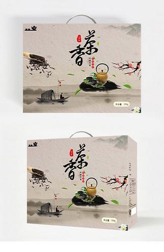 香茶茶道包装设计