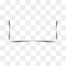 边框特效特效图案 纸张投影阴影方框