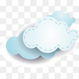 六一 儿童节 云朵