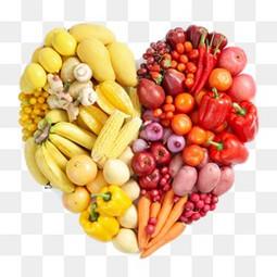 蔬果爱心免费下载 爱心