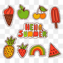 卡通菠萝图片素材