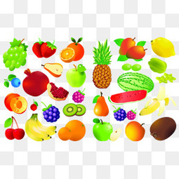 卡通水果卡通菠萝卡通西瓜