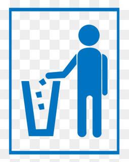 垃圾标志 请勿乱扔垃圾图片