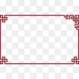 中国风边框