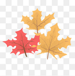 创意秋季的落叶设计