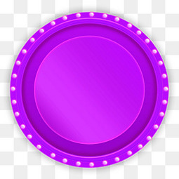 紫色音响舞台促销装饰小元素多边