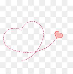 粉色浪漫纸爱心免抠PNG素材