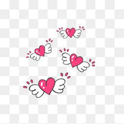 情人节小清新可爱粉色爱心