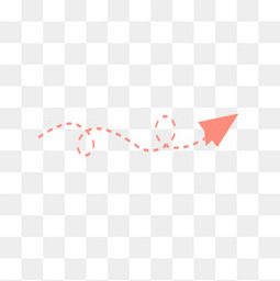 卡通可爱纸飞机彩虹分界线