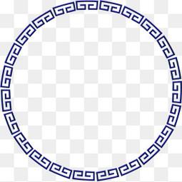 紫色中国风花纹边框纹理