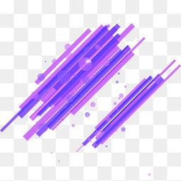 紫色活力方条艺术装饰图案