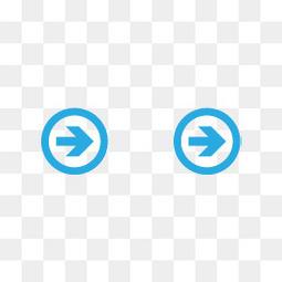 蓝色科技抽象箭头