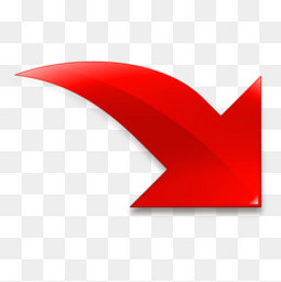 红色的导入箭头图标