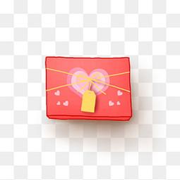520手绘礼物盒