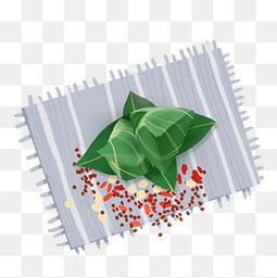 粽子手绘透明图元素