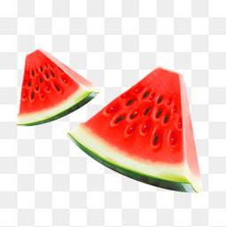 夏天两块西瓜
