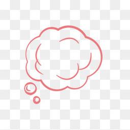 思考气泡、对话框