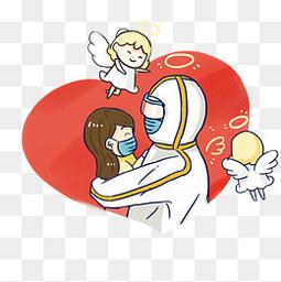 天使和护士的守护