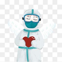 白衣天使抗疫战士