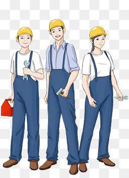 劳动节工人