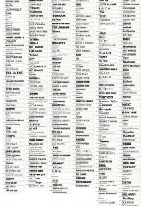 300款精选英文字体下载图片