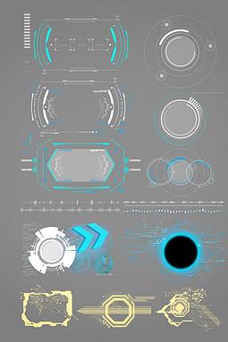 科技图形矢量素材