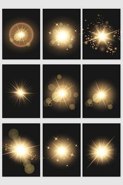 各类光点光效矢量素材